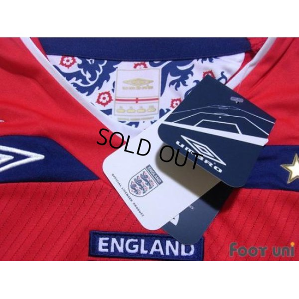 Photo4: England 2008 Away Shirt #9 Rooney w/tags