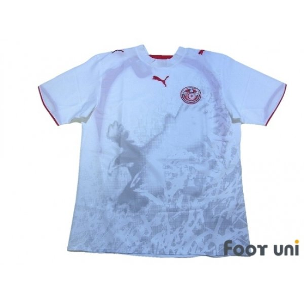 Photo1: Tunisia 2006 Home Shirt w/tags
