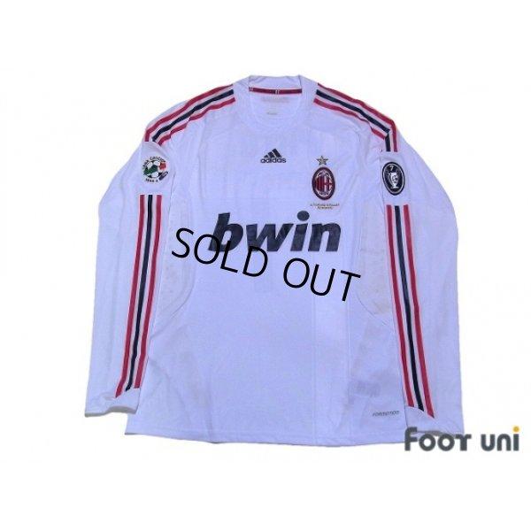 AC Milan 2008-2009 Away Player Long Sleeve Shirt #7 Pato - Online ...