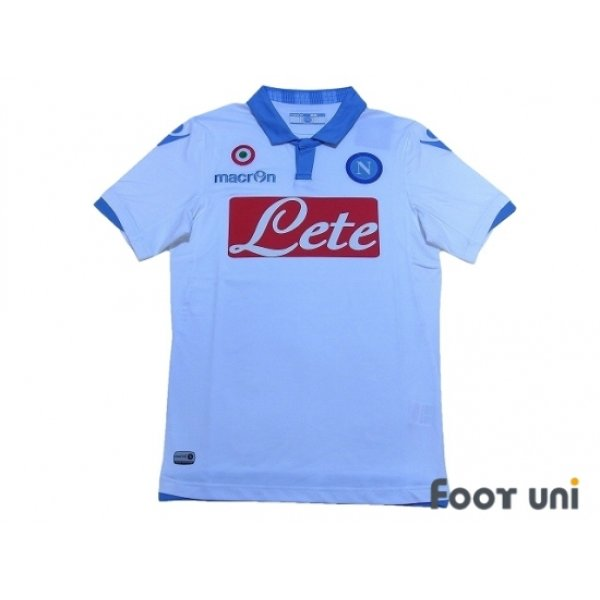 Photo1: Napoli 2014-2015 3RD Shirt w/tags