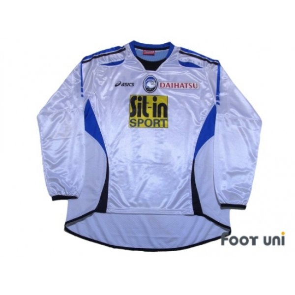 Photo1: Atalanta 2006-2007 Away Long Sleeve Shirt #17 Vieri Lega Calcio Serie A Tim Patch/Badge