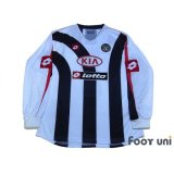Udinese 2005-2006 CUP Long Sleeve Shirt #9 Iaquinta w/tags