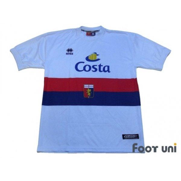 Photo1: Genoa 2002-2003 Away Shirt
