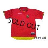Belgium 1997 Home Shirt