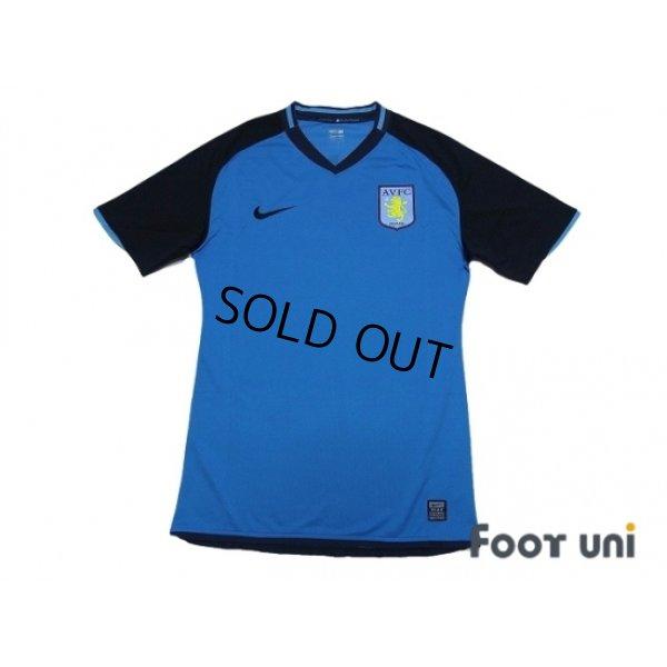 Photo1: Aston Villa 2008-2009 Away Authentic Shirt #8 Milner