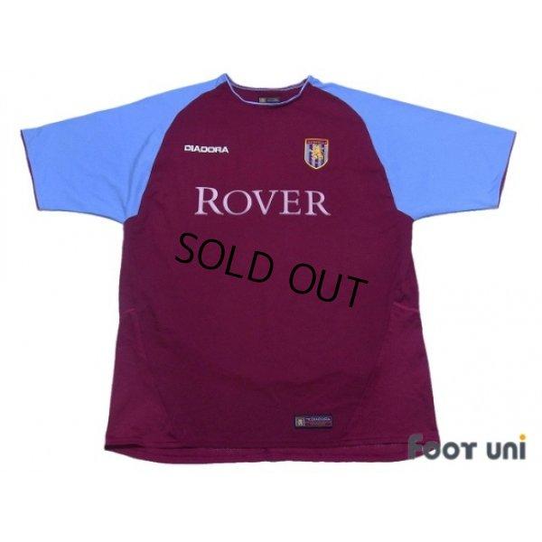 Photo1: Aston Villa 2003-2004 Home Shirt