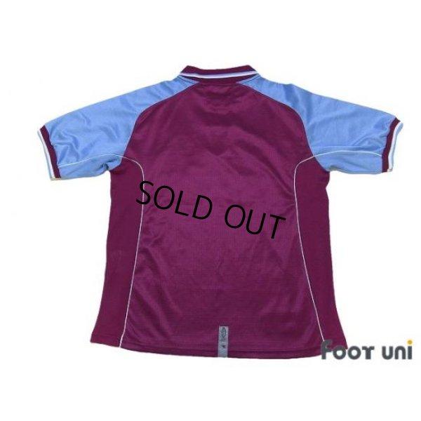 Photo2: Aston Villa 2000-2001 Home Shirt