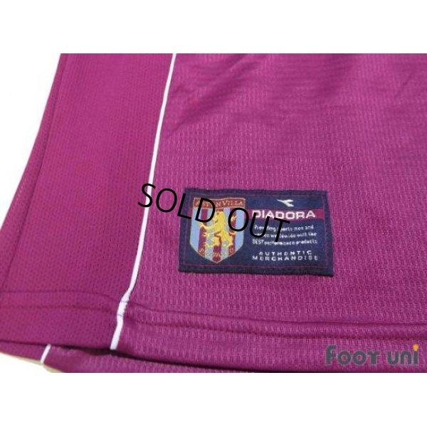 Photo3: Aston Villa 2000-2001 Home Shirt