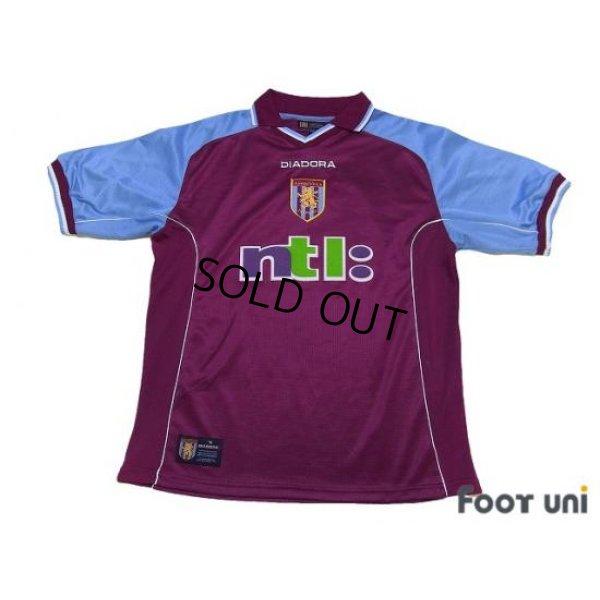 Photo1: Aston Villa 2000-2001 Home Shirt