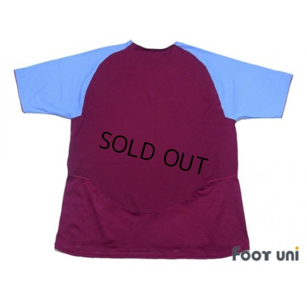 Photo2: Aston Villa 2003-2004 Home Shirt