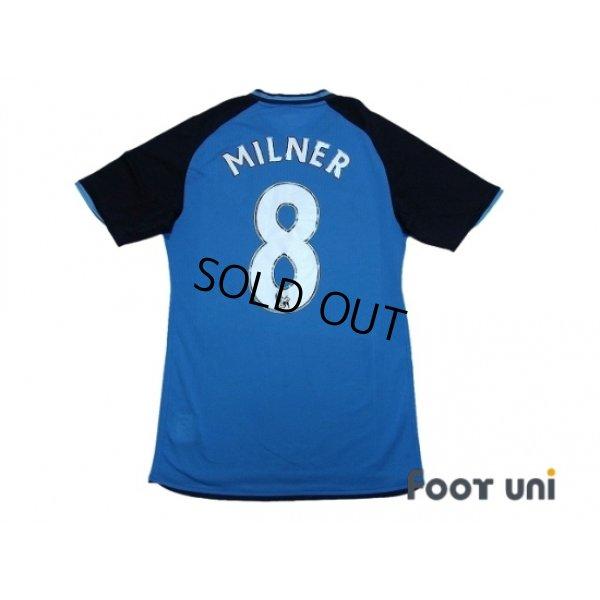 Photo2: Aston Villa 2008-2009 Away Authentic Shirt #8 Milner