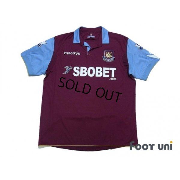 Photo1: West Ham Utd 2010-2011 Home Shirt #26 Hines Premier League Patch/Badge