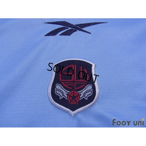 Photo5: Bolton Wanderers 2000-2001 Away Long Sleeve Shirt