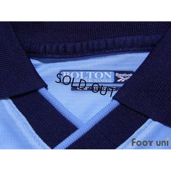 Photo4: Bolton Wanderers 2000-2001 Away Long Sleeve Shirt