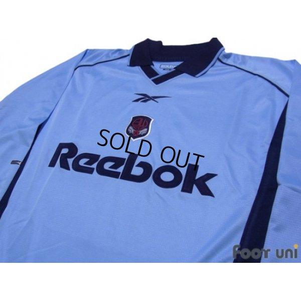 Photo3: Bolton Wanderers 2000-2001 Away Long Sleeve Shirt