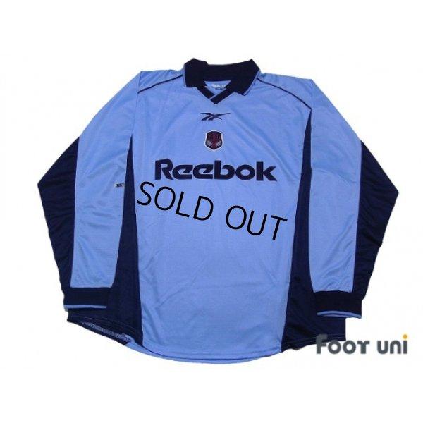 Photo1: Bolton Wanderers 2000-2001 Away Long Sleeve Shirt