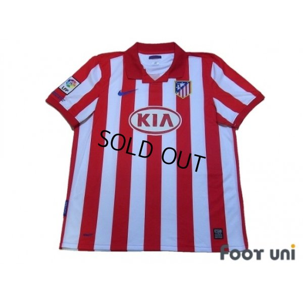 Photo1: Atletico Madrid 2009-2010 Home Shirt LFP Patch/Badge