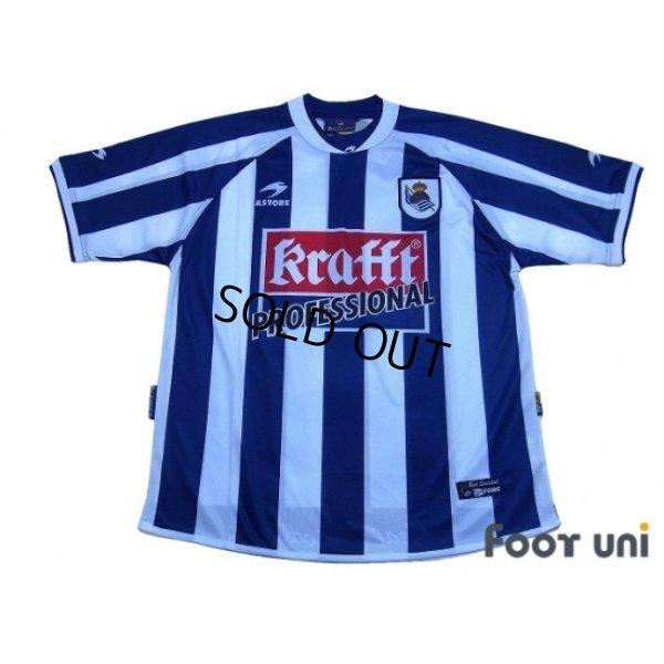 Photo1: Real Sociedad 2002-2003 Home Shirt w/tags