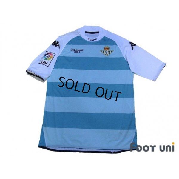 Photo1: Real Betis 2008-2009 3RD Shirt #23 Odonkor LFP Patch/Badge