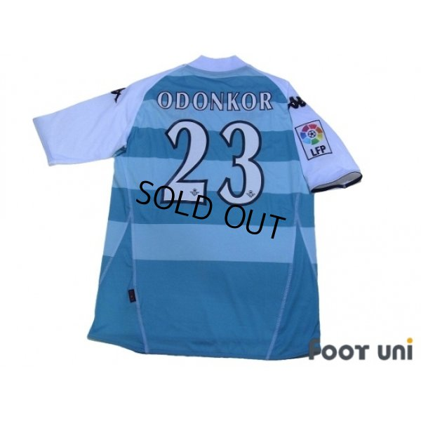 Photo2: Real Betis 2008-2009 3RD Shirt #23 Odonkor LFP Patch/Badge