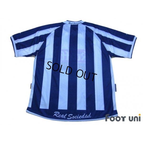 Photo2: Real Sociedad 2002-2003 Home Shirt w/tags