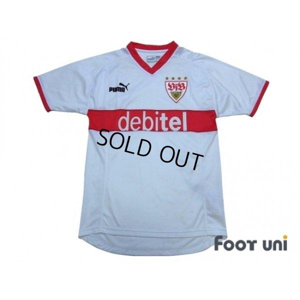 Photo1: VfB Stuttgart 2003-2004 Home Shirt
