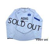 Hamburger SV 2004-2005 Home Long Sleeve Shirt