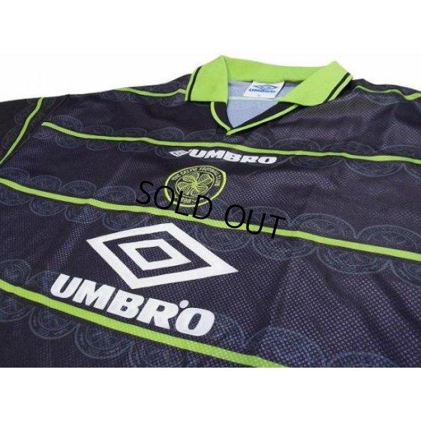 Photo3: Celtic 1998-1999 Away Shirt