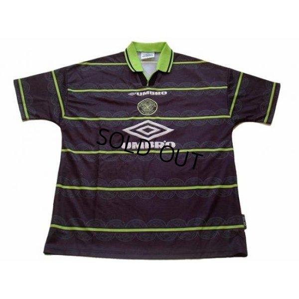 Photo1: Celtic 1998-1999 Away Shirt