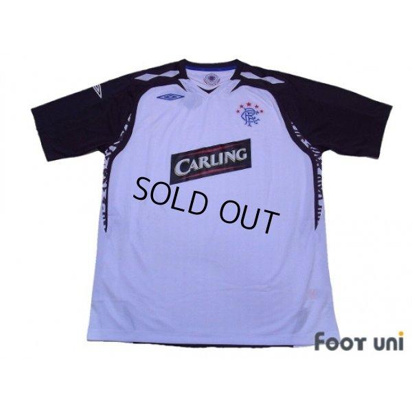 Photo1: Rangers 2007-2008 Away Shirt w/tags