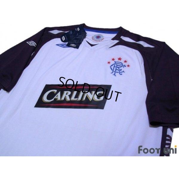 Photo3: Rangers 2007-2008 Away Shirt w/tags