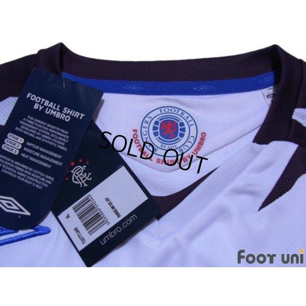 Photo4: Rangers 2007-2008 Away Shirt w/tags