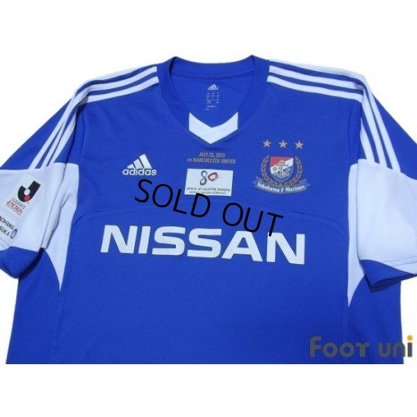 J League Football Shirts: Yokohama F・Marinos 2013 Home Shirt/Jersey Adidas J League