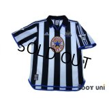 Newcastle 1999-2000 Home Shirt #9 Shearer The F.A. Premier League Patch/Badge