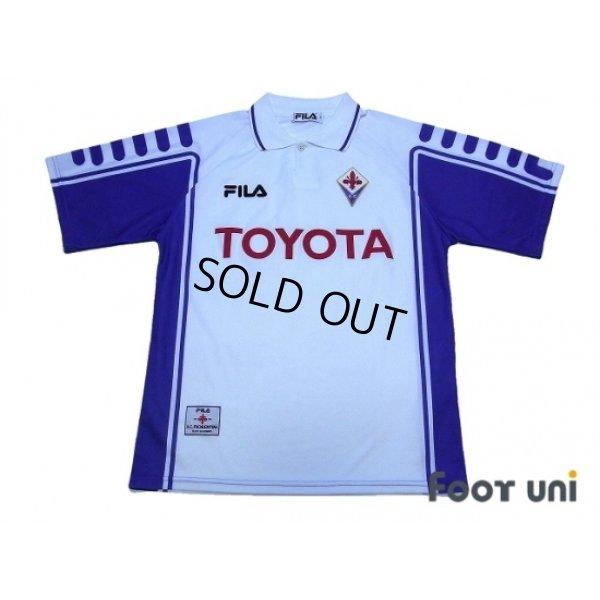 Photo1: Fiorentina 1999-2000 Away Shirt