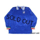 Italy 1995 Home Long Sleeve Shirt #5