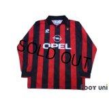 AC Milan 1994-1995 Home Long Sleeve Shirt