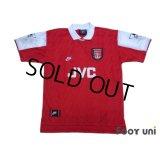 Arsenal 1994-1996 Home Shirt #10 Bergkamp The F.A. Premier League Patch/Badge