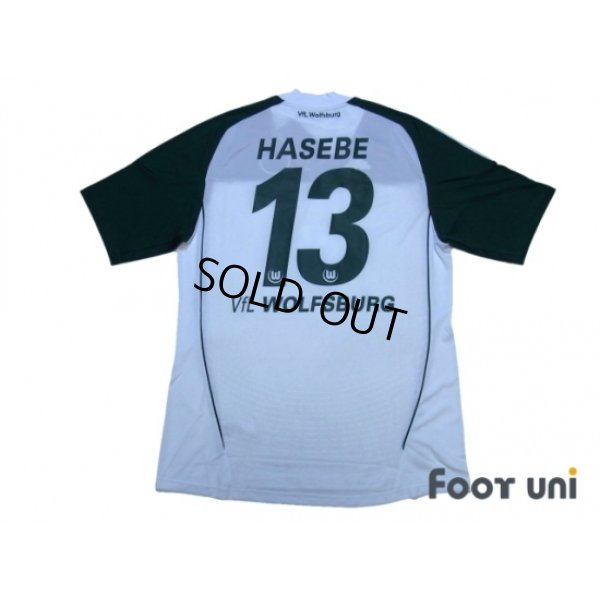 Photo2: VfL Wolfsburg 2010-2011 Home Shirt #13 Hasebe w/tags