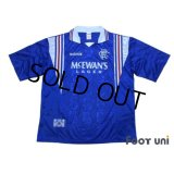 Rangers 1996-1997 Home Shirt #8 Gascoigne