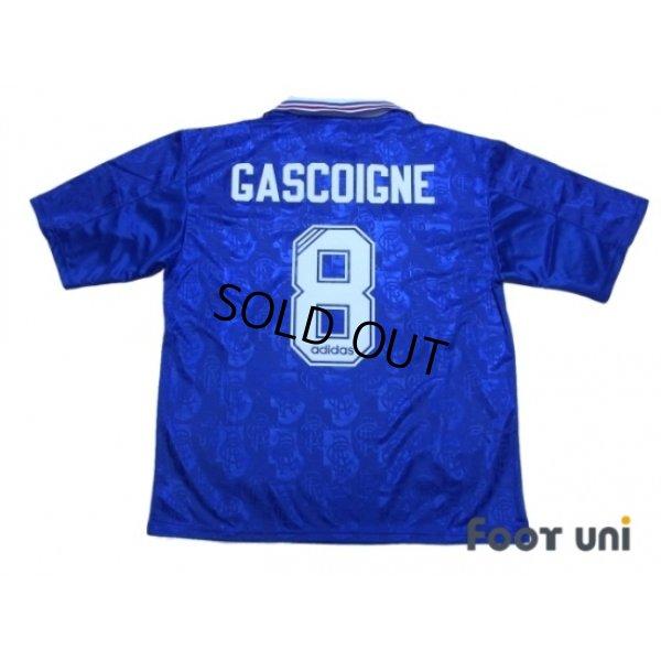 Photo2: Rangers 1996-1997 Home Shirt #8 Gascoigne