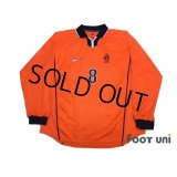Netherlands 1998 Home Authentic Long Sleeve Shirt #8 Bergkamp w/tags