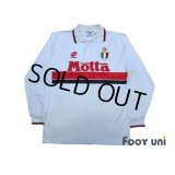 AC Milan 1993-1994 Away L/S Shirt Scudetto Patch/Badge