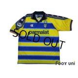 Parma 1999-2000 Home Shirt  #9 Crespo Lega Calcio Patch/Badge