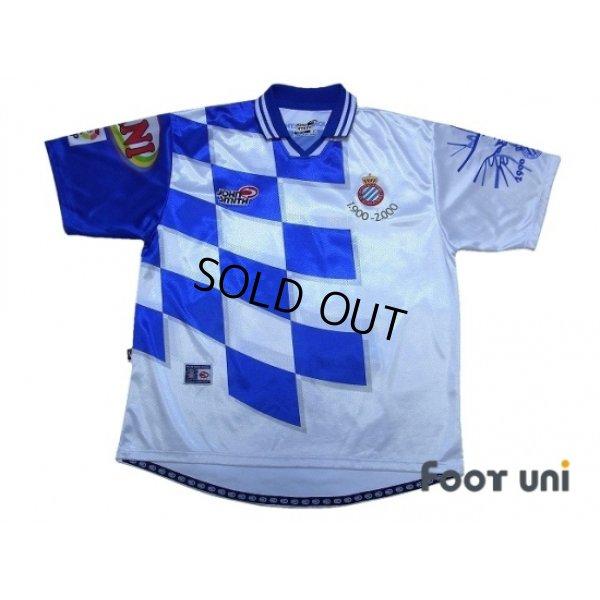 Photo1: Espanyol 2000-2001 Centenario Home Shirt
