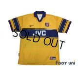 Arsenal 1997-1999 Away Shirt #10 Bergkamp