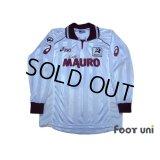Reggina 2002-2003 Away Long Sleeve Shirt #10 Nakamura Lega Calcio Patch/Badge