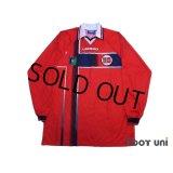 Norway 1997 Home Long Sleeve Shirt #17