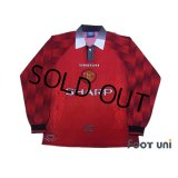 Manchester United 1996-1998 Home Long Sleeve Shirt