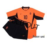 Netherlands 2002 Home Shirt and Shorts Set #10 Van Der Vaart